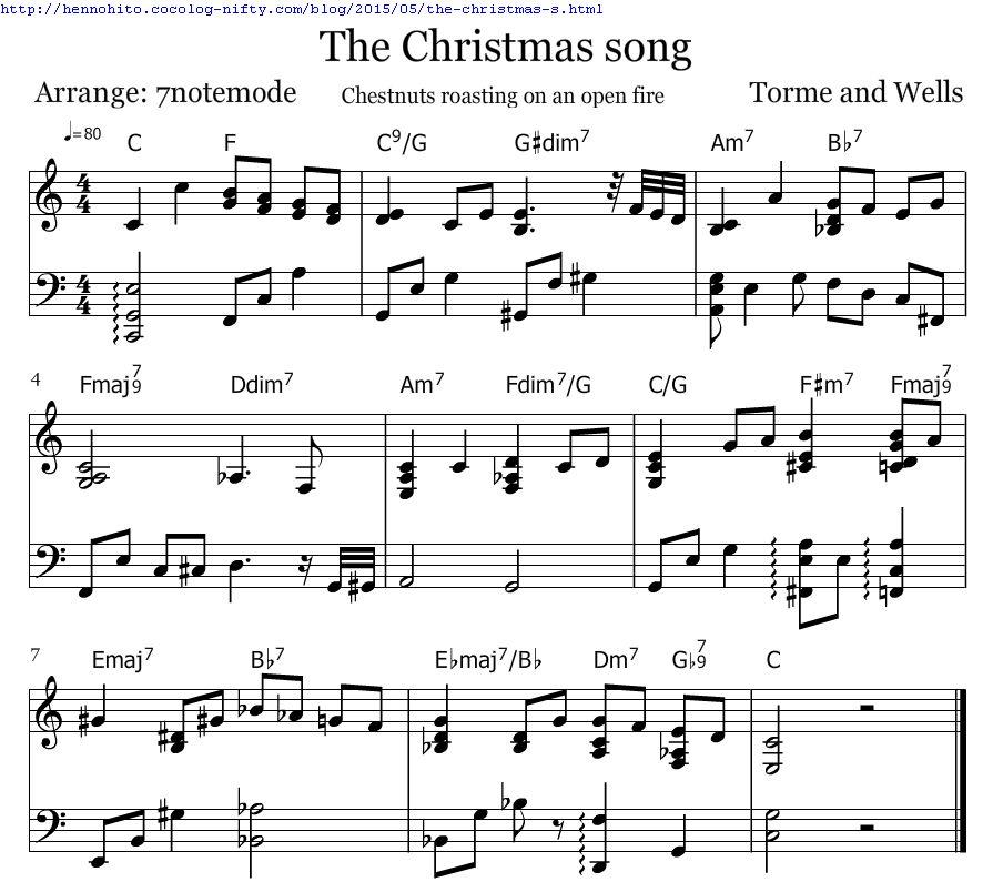 コード クリスマス ソング