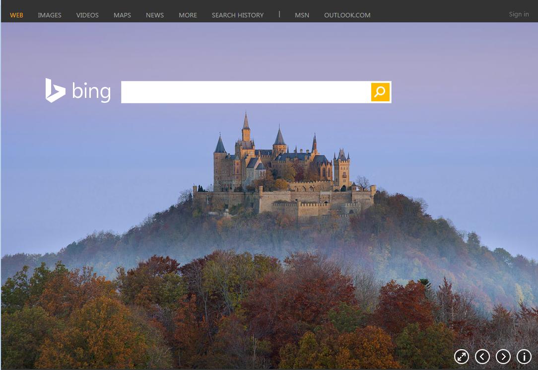 ドラクエかっ Bing Comの壁紙になったホーエンツォレルン城がやたら
